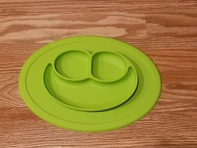 EZPZ Lime Mini Mat [One Piece Silicone Placement and Plate, One Size EUC]