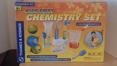d1a168434 Thames and Kosmos Kids First Chemistry Set Science Kit (New AGES 8 And Up)