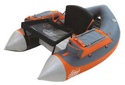 Outcast Fat Cat LCS - Gray/Orange - Float Tube