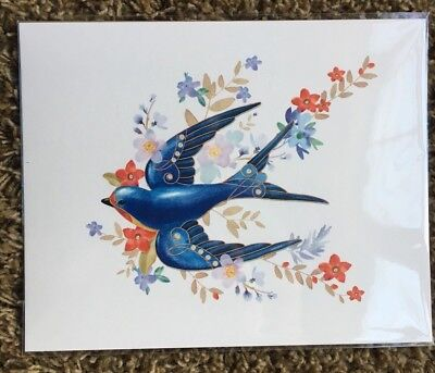 BARN SWALLOW PRINT 2018 HALLMARK KOC Beauty of the Birds Member Exclusive NEW