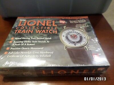 Lionel Collectible Train Watch w/Sound! BRAND NEW IN SEALED BOX