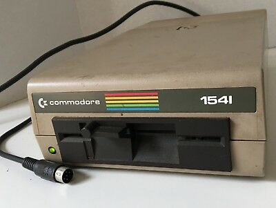 Vintage Commodore CBM 1541 floppy disk drive for C=64 C=128