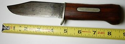 Henry Sears & Son 1865 Out-Doors Fixed Blade Wood Handle Hunting Knife