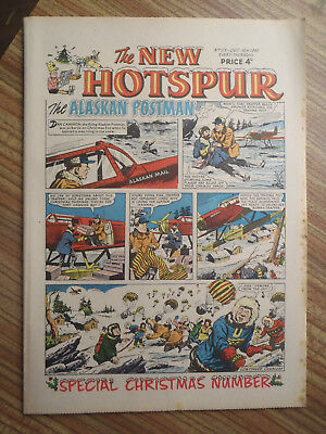 New Hotspur Comic No 113.  1961 Christmas issue..(A)