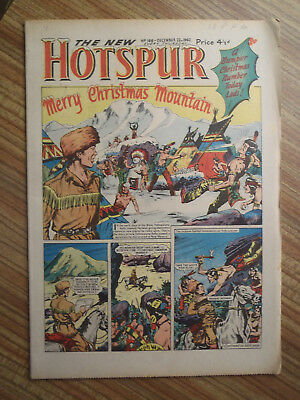 New Hotspur Comic No 166.  1962 Christmas issue. (A)