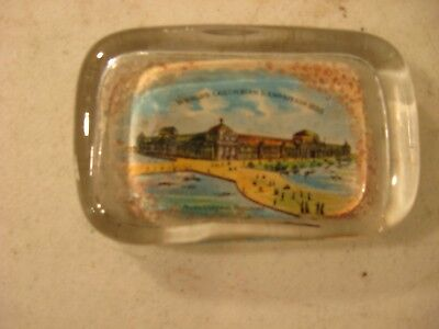 Worlds Columbian Exposition 1893 Paperweight Agriculture Building