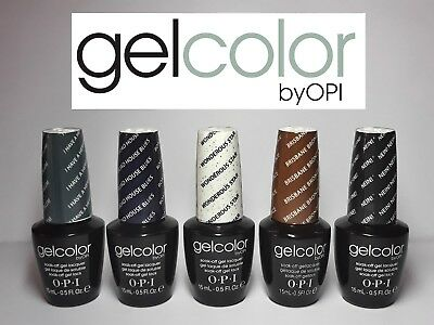OPI O.P.I GelColor Gel Color Soak Off UV LED Gel Polish 15ml 0.5 oz ВЕST PRICE!