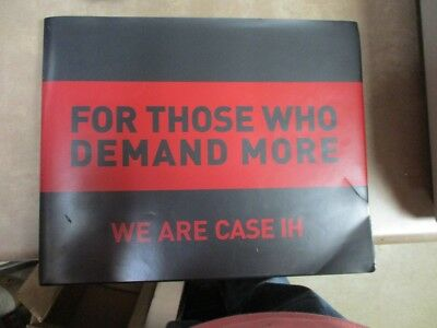 """Case IH """"For Those That Demand More We are Case IH"""" Hardcover Book CIHBB06-ENG"""