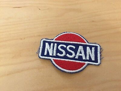 Nissan  Patch ,vintage  Sew On , New Old Stock, 80's