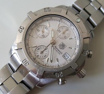 Gent's Stainless Steel Tag Heuer Automatic Ref# Cn2110-0 Dd6081