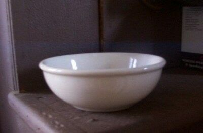 """Buffalo China 5 3/4"""" Coupe Cereal Bowl + Rolled Rim, Vintage Restaurant Ware"""
