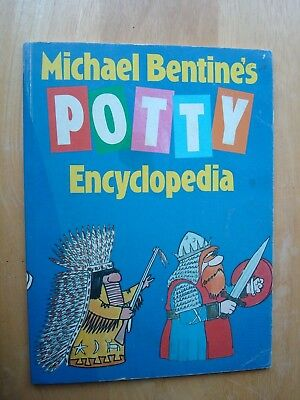 Michael Bentine's Potty Encyclopedia Paperback Book From 1985 Vgc