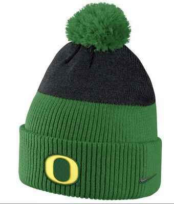 low priced bca1f 87003 New Nike Oregon Ducks Uo New Day Cuffed Beanie With Pom Embroidered One Size