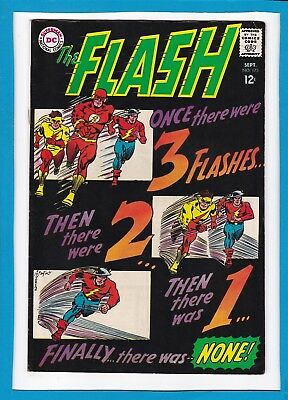 The Flash #173_Sept 1967_Very Fine+_Golden Age Flash X-Over_Silver Age Dc!