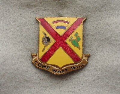 US Army 105th Coast Artillery  DI DUI CREST SB no HMk  (x0041)