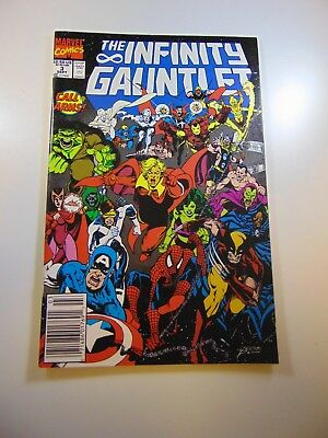 Infinity Gauntlet #3 VF condition Huge auction going on now!