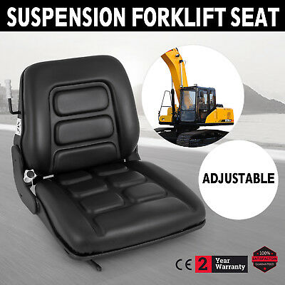 Forklift Seat Adjustable with Suspension - Tractor Chair