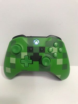 Xbox One Wireless Controller - Minecraft Creeper See All Pictures