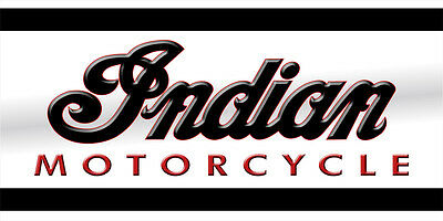 Indian Chief, Scout, Chieftain, Bagger Motorcycle Garage Wall Trailer Banner