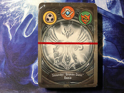 Keyforge Deck LIBRARY ACCESS & BAIT AND SWITCH Logos / Shadows / Untamed Sealed