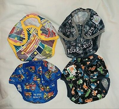 Awesome Reusable Cloth Nappy Covers / Fire engine / Rock / Cars / Colourful