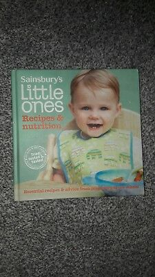 sainsburys little ones recipe book for weaning