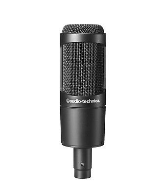 Audio Technica AT2035 Cardioid Condenser Microphone AT 2035 Mic