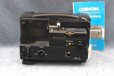 Chinon 2500Gl Film Projector For Parts Or Repair