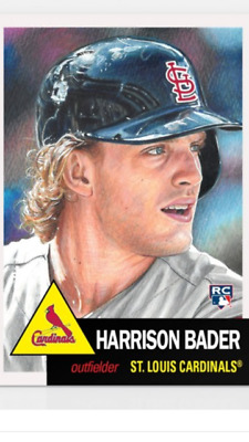 Topps Baseball Living Set Rookie Card St Louis Cardinals Harrison Bader #120