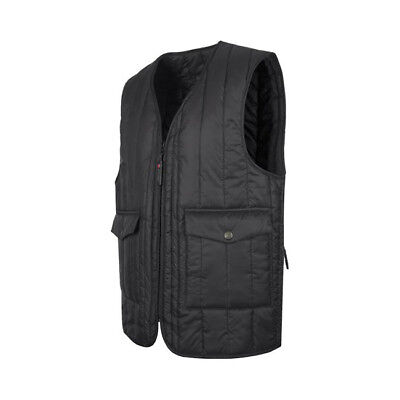 John Doe Originals Bodywarmer Vest - Black