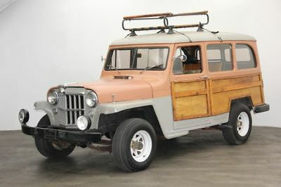 1954 Willys Overland Wagon -- 1954 Willy Overland Wagon