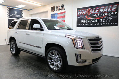 2016 Cadillac Escalade 2WD 4dr Premium Collection BEST COLOR . LOADED. FACTORY WARRANTY. CARFAX CERTIFIED. CALL 954-744-1177