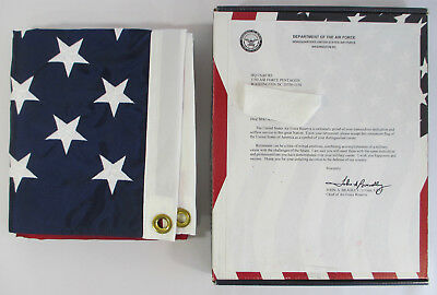 Official US AIR FORCE RESERVE RETIREMENT FLAG 3x5 Nylon USA America's Company