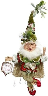 "Mark Roberts 2018 Christmas Mistletoe Mischief Elf Small 10"" 51-85554 NEW"