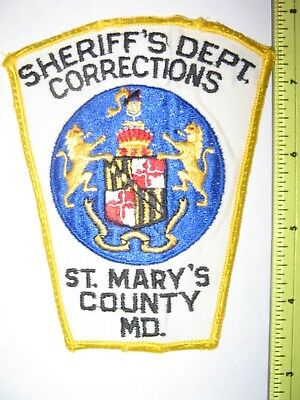 St. Mary's Co. Sheriff's Dept. Corrections  - Md.
