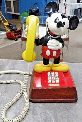The Mickey Mouse Phone Western Electric / ATC 1970s Vintage Working FREE SHIP