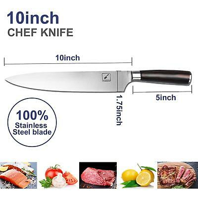 Imarku 10 Inch Pro Chef's Knife High Carbon German Steel Cook's Knife