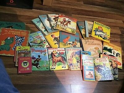 Vintage 1940s and 1950s  Childrens Books Lot of 25. See list below...