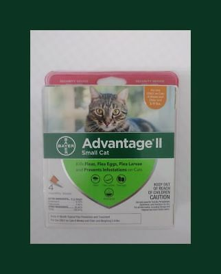 12 MONTH SUPPLY - Advantage II for Small Cats Over 9lbs - EPA Certified, USA