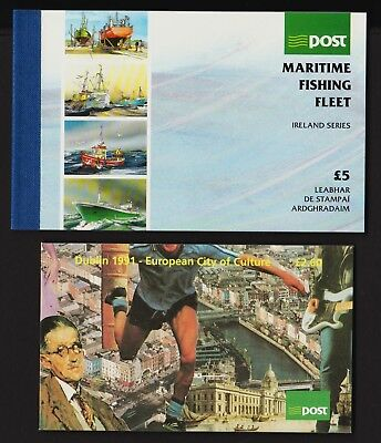 Ireland - Two 1991 Booklets, cat. $ 35.50