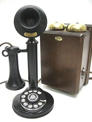 Western Electric Candlestick Telephone 50AL, with Subset