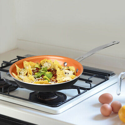 Kupferberg 20cm Ceramic Copper Non-Stick Induction Frying Pan Dishwasher Oven