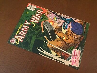 Our Army at War #53 - GORGEOUS HIGHER GRADE - DC War 1956