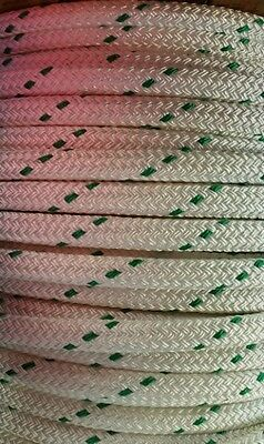 "1"" Double Braided Polyester Bull Rope 31,000 lbs Tensile Strength"