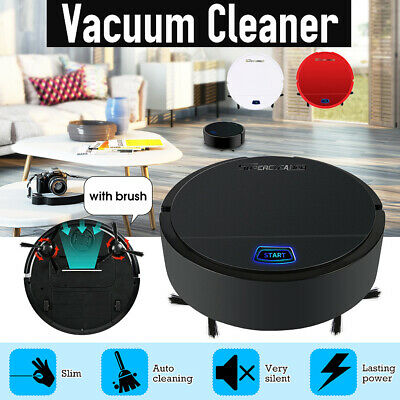 Auto Robot Vacuum Cleaner Sweeping Smart Robot Super Strong Suction Mop Floor 5V