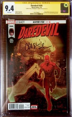 Daredevil #595 CGC SS Signed by Sienkiewicz & Soule! Fisk/ Kingpin Becomes Mayor