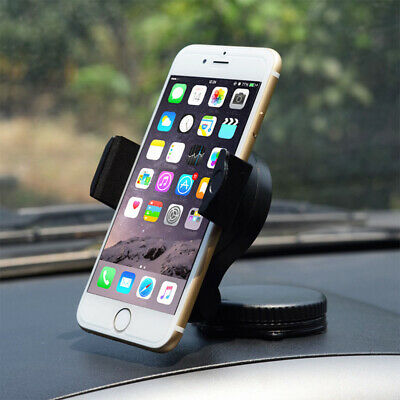 Rotatable Car Windscreen Suction Cup Mount Mobile Phone Holder Bracket Stand