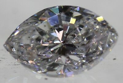 Certified 0.70 Carat D VS1 Marquise Enhanced Natural Loose Diamond 7.15x4.46mm