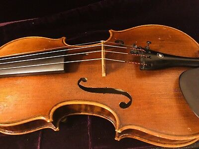Fine Italian Labeled Violin Giacinto Bertolazzi