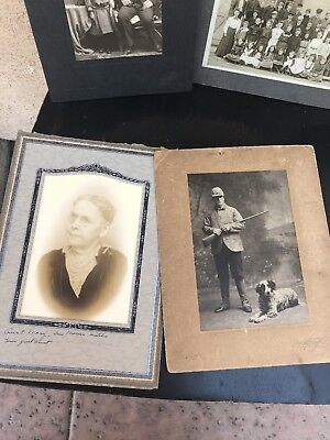 Vintage Antique Photos Grandma And Her Family 1900's - 1930's California